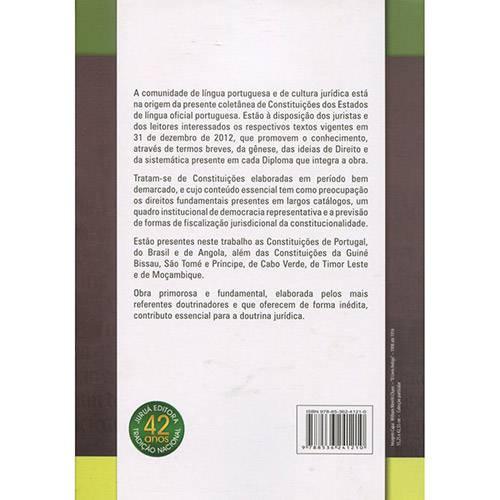 Livro - as Constituições dos Estados de Língua Portuguesa: uma Visão Comparativa