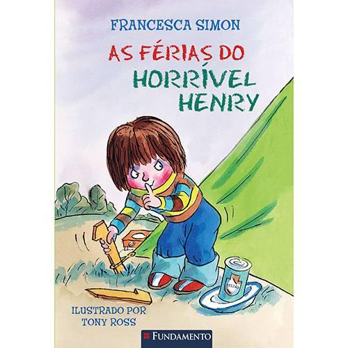Livro - as Férias do Horrível Henry