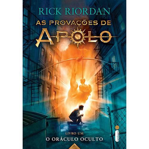 Livro - as Provações de Apolo: o Oráculo Oculto - Vol. 1