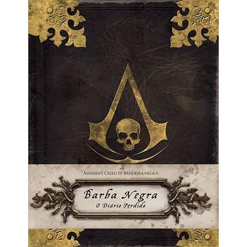 Livro - Assassin's Creed IV Bandeira Negra: Barba Negra - o Diário Perdido