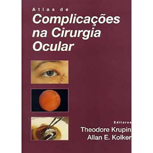 Livro - Atlas de Complicações na Cirurgia Ocular