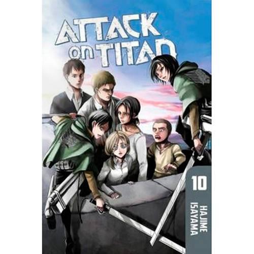 Livro - Attack On Titan 10