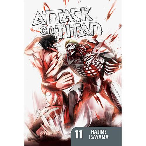 Livro - Attack On Titan 11