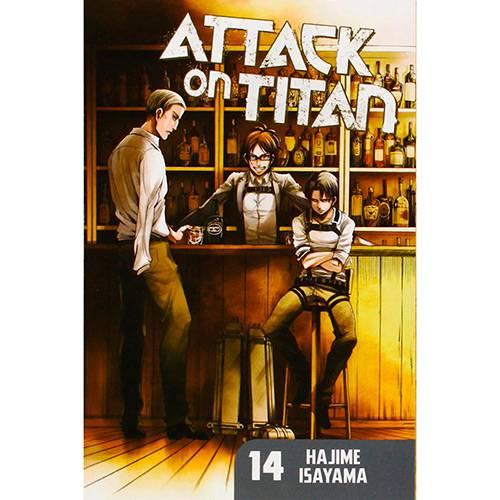 Livro - Attack On Titan 14