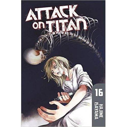Livro - Attack On Titan 16