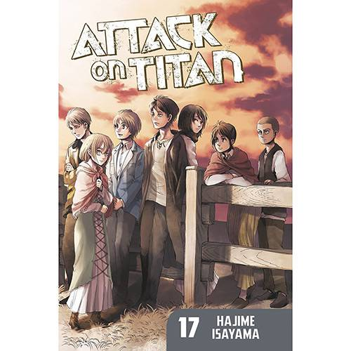 Livro - Attack On Titan 17