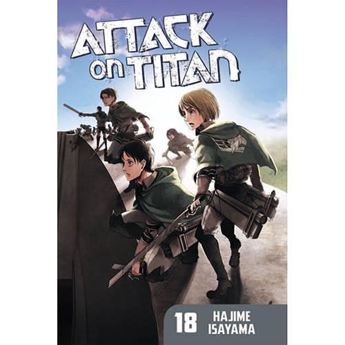 Livro - Attack On Titan 18