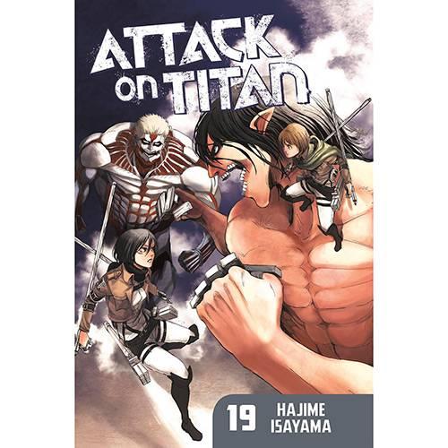 Livro - Attack On Titan 19