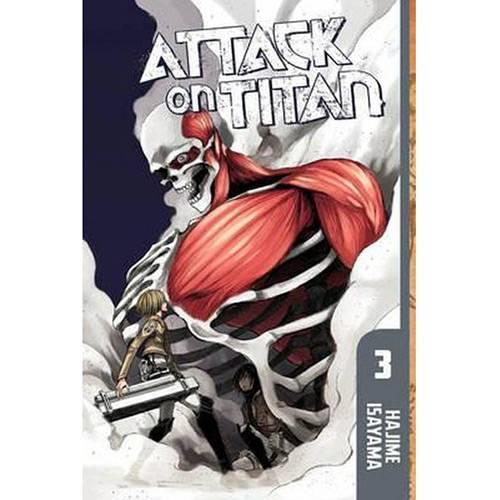 Livro - Attack On Titan 3
