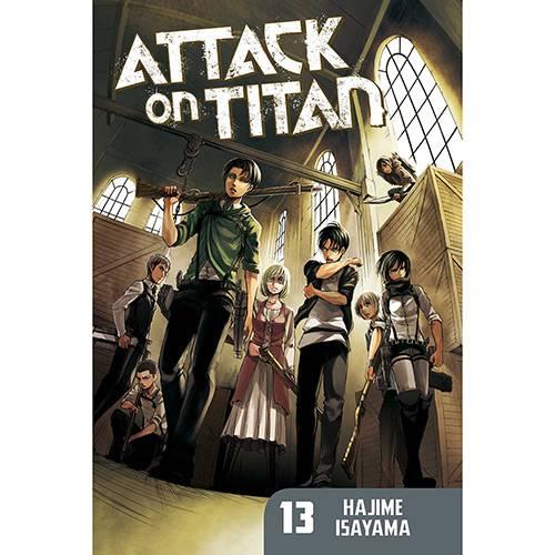 Livro - Attack On Titan 13