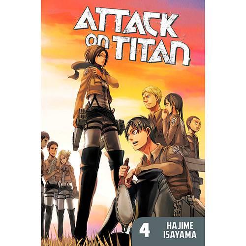 Livro - Attack On Titan 4