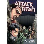 Livro - Attack On Titan 5