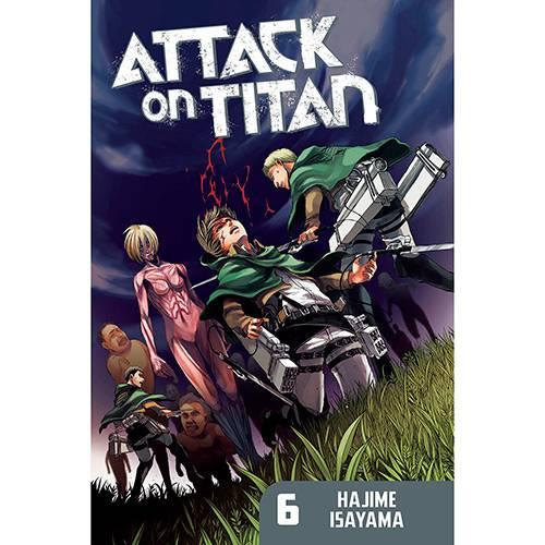 Livro - Attack On Titan 6