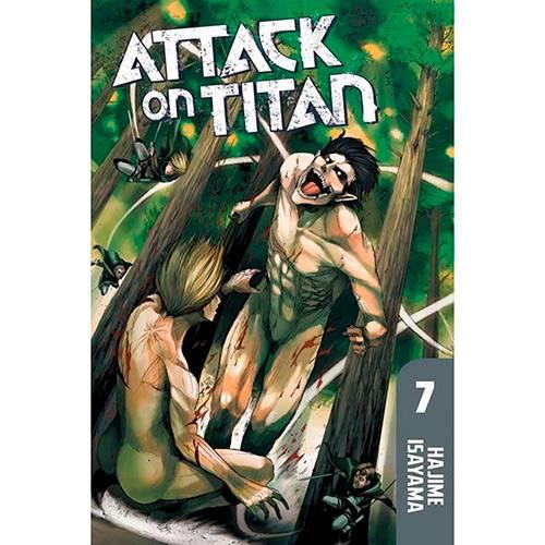 Livro - Attack On Titan 7
