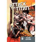 Livro - Attack On Titan 8