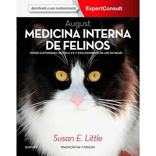 Livro - August Medicina Interna de Felinos