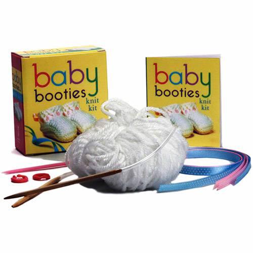 Livro - Baby Booties Knit Kit