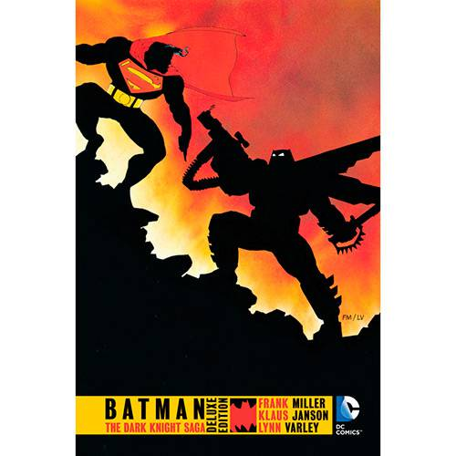Livro - Batman: The Dark Knight Returns Deluxe Edition (inglês)