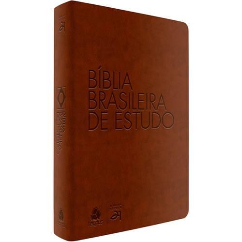 Livro - Bíblia Brasileira de Estudo (Marrom)