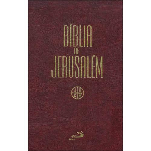 Livro - Bíblia de Jerusalém - Grande Encadernada