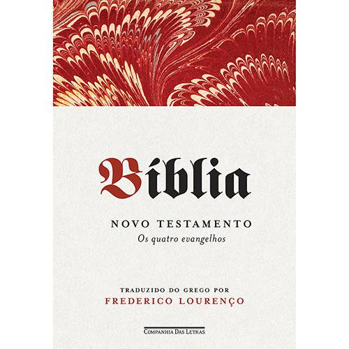 Livro - Bíblia Novo Testamento: os Quatro Evangelhos