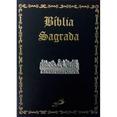 Livro - Bíblia Sagrada (Edição Pastoral - Luxo - Santa Ceia)