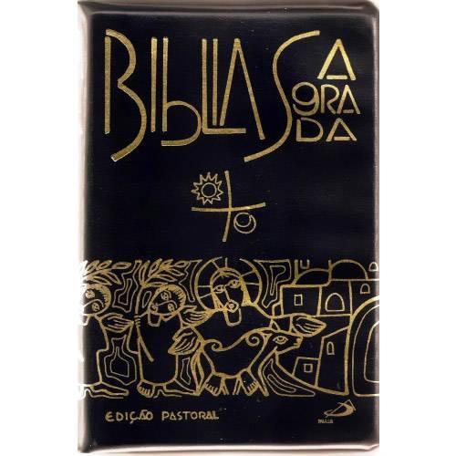 Livro - Bíblia Sagrada: Edição Pastoral Média Zíper