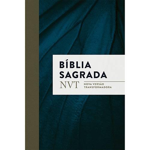 Livro - Bíblia Sagrada: Nvt Nova Versão Trasnformadora (Azul Marinho)