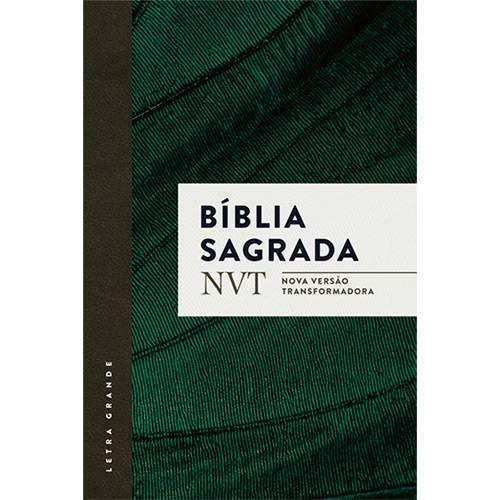 Livro - Bíblia Sagrada: Nvt Nova Versão Trasnformadora (Letra Grande)