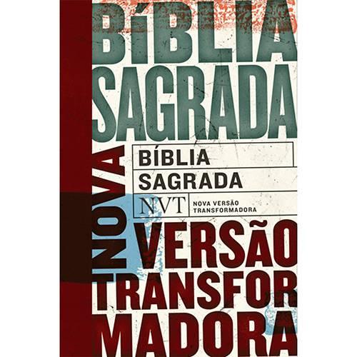 Livro - Bíblia Sagrada: Nvt Nova Versão Trasnformadora (Tipos)