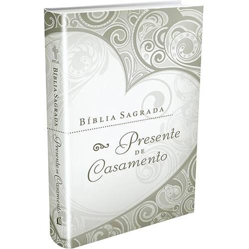 Livro - Bíblia Sagrada: Presente de Casamento