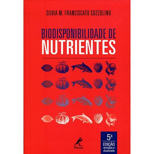 Livro - Biodisponibilidade de Nutrientes