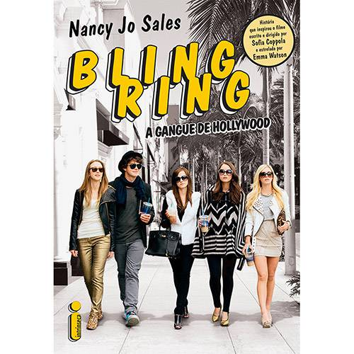 Livro - Bling Ring: a Gangue de Hollywood