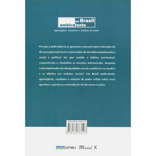 Livro - Brasil Ambivalente - Agronegócio, Ruralismo e Relações de Poder, um