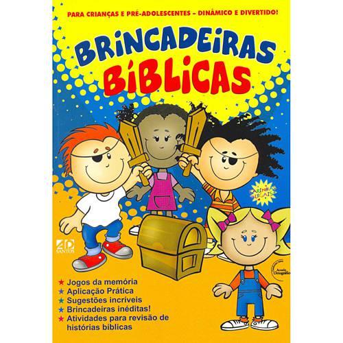 Livro - Brincadeiras Bíblicas