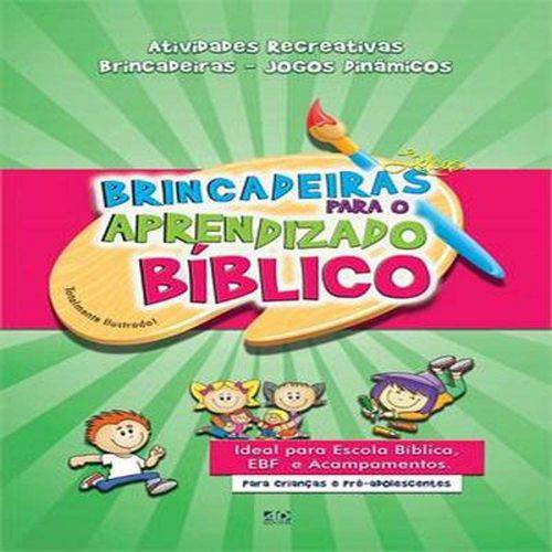 Livro - Brincadeiras Ludicas para o Aprendizado Biblico