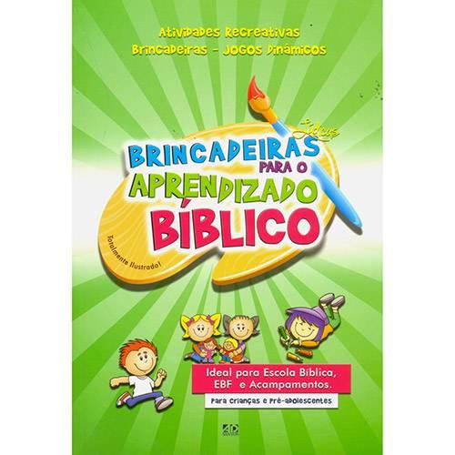 Livro - Brincadeiras para o Aprendizado Bíblico
