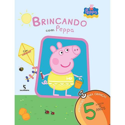 Livro - Brincando com Peppa: a Partir de 5 Anos