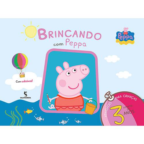 Livro - Brincando com Peppa: a Partir de 3 Anos