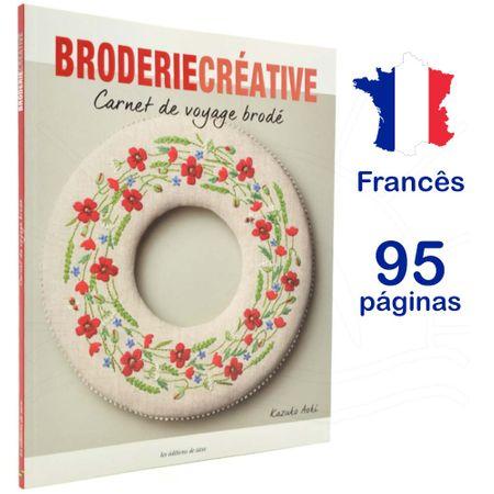 Livro Broderie Créative Carnet de Voyage Brodé