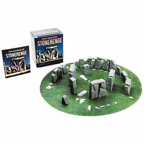 Livro - Build Your Own Stonehenge: Mega Mini Kit