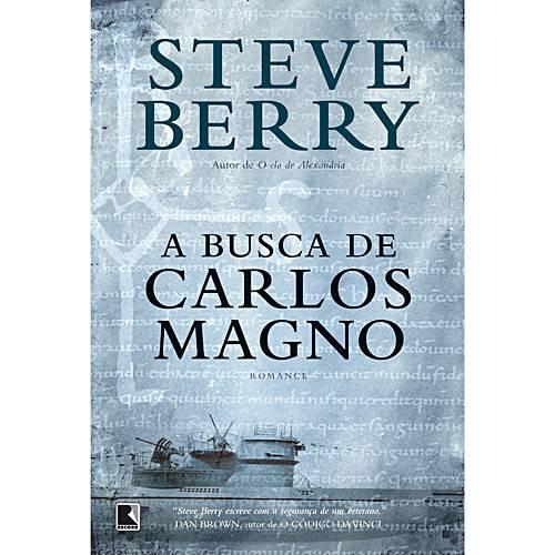 Livro - Busca de Carlos Magno, a
