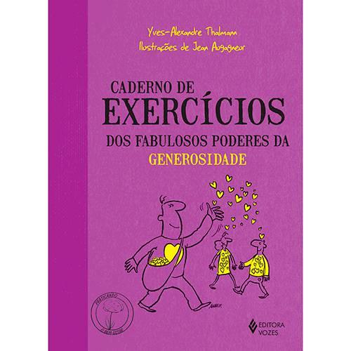 Livro - Caderno de Exercícios dos Fabulosos Poderes da Generosidade