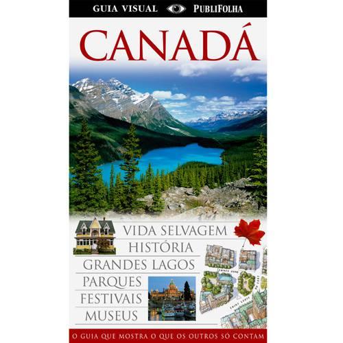 Livro - Canada - Guia Visual Folha