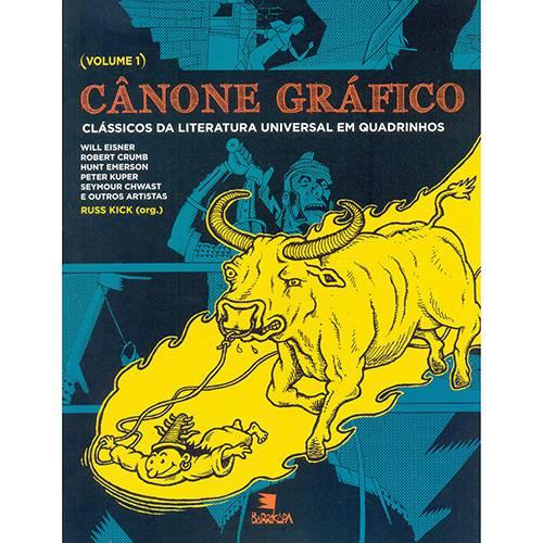 Livro - Cânone Gráfico: Clássicos da Literatura Universal em Quadrinhos - Vol. 1