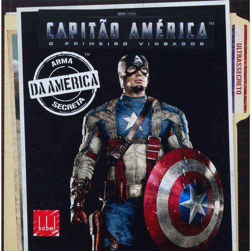 Livro - Capitão América - o Primeiro Vingador - Arma Secreta da América