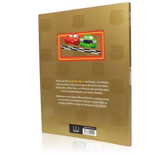 Livro - Carros - Coleção Ouro