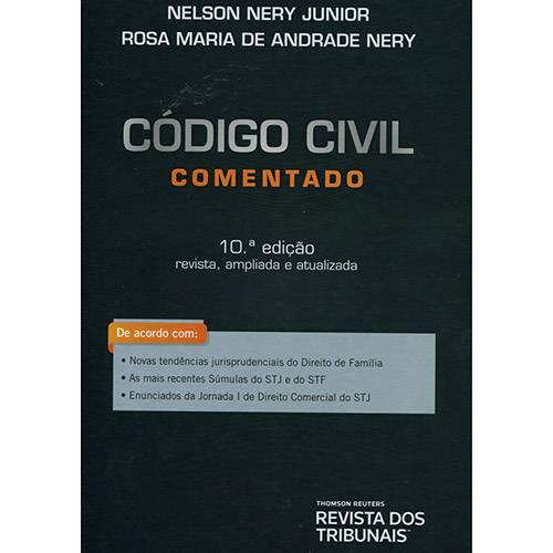 Livro - Código Civil: Comentado