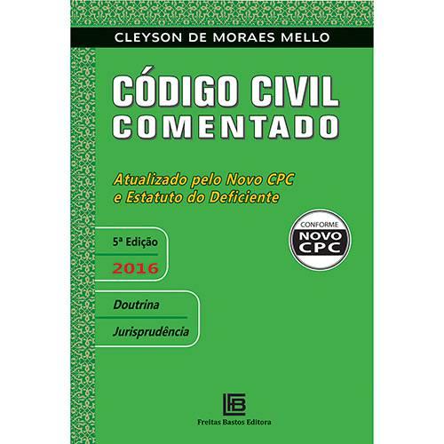 Livro - Código Civil Comentado