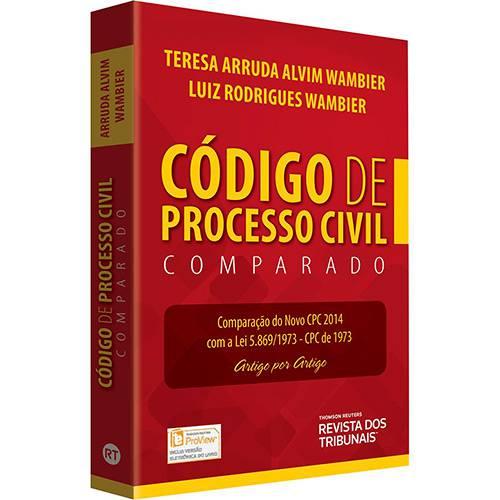 Livro - Código de Processo Civil Comparado